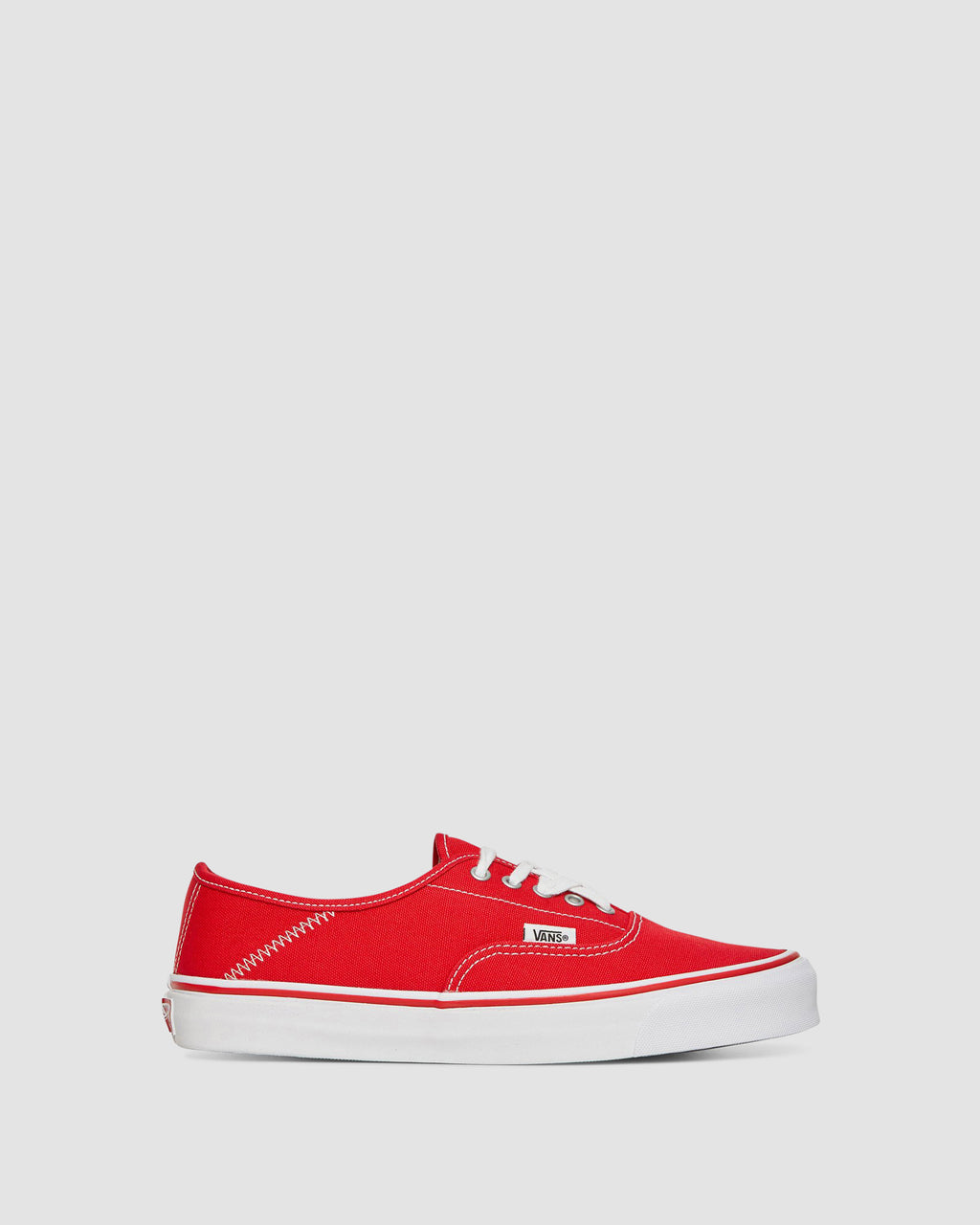 AA U SN 0002 0 36 VANS OG STYLE 43 AUTHENTIC FOLD DOWN TRUE RED