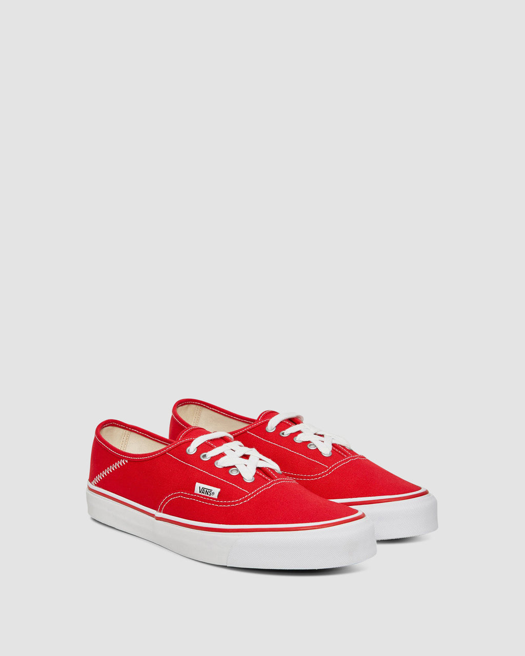 VANS OG STYLE 43 AUTHENTIC FOLD DOWN TRUE RED