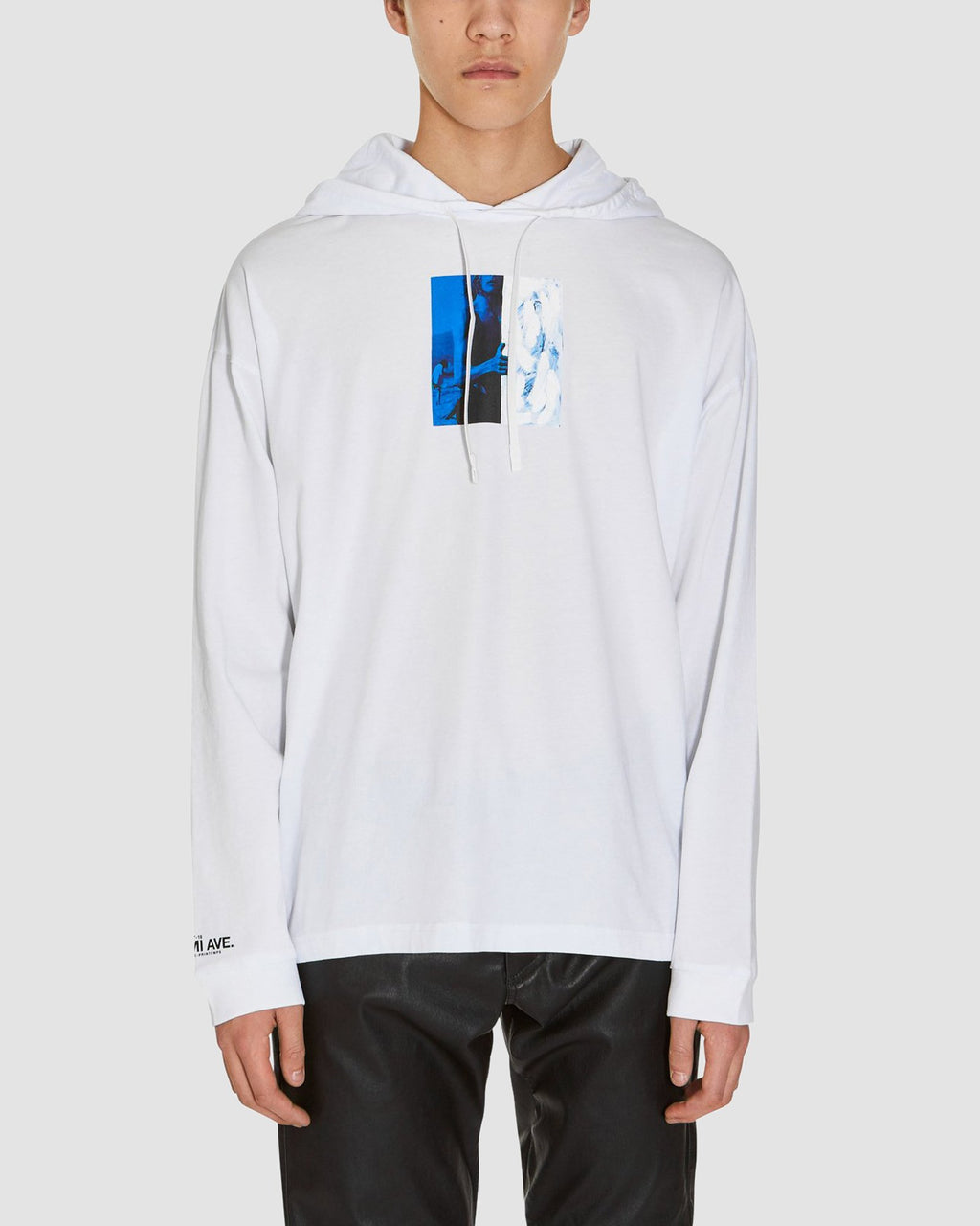 VENICE BEACH HOODED LS TEE