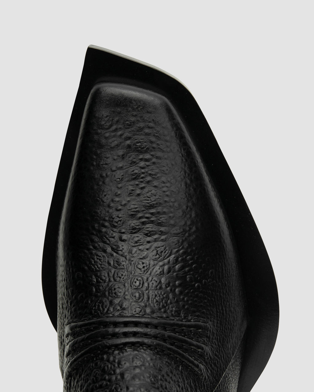 LEATHER TOAD PRINT LEONE BOOT