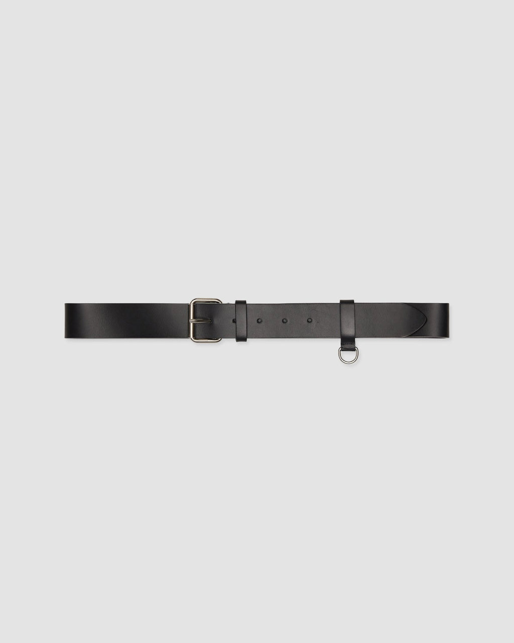 LEATHER BELT WITH RING
