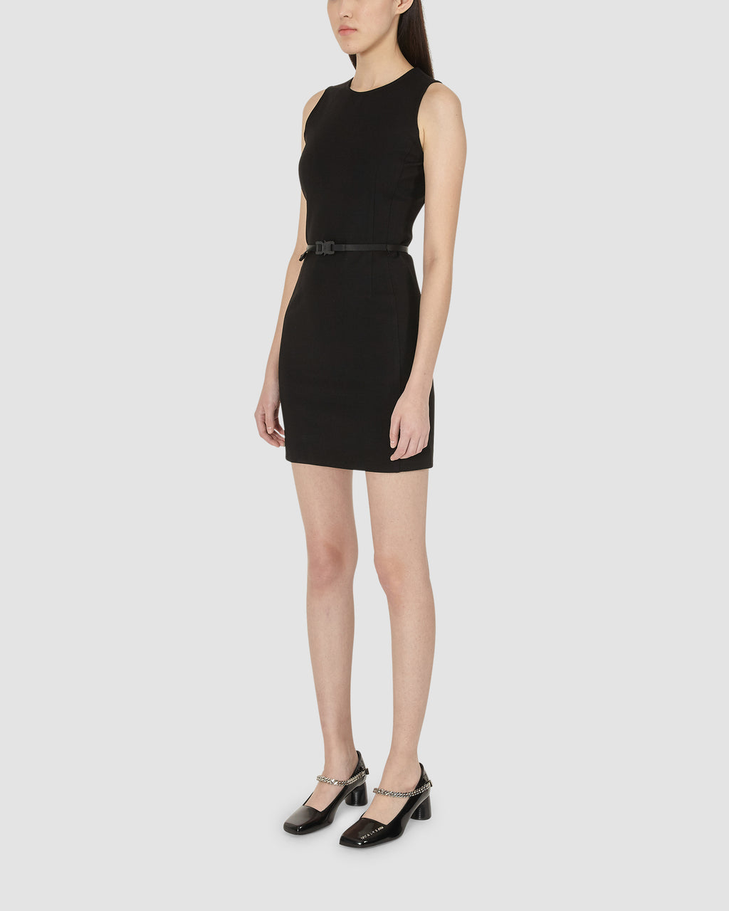 1017 ALYX 9SM | BLACK DRESS WITH MINI BELT | Dress | Black, Dresses, Google Shopping, S20, S20EXSH, Woman, WOMEN