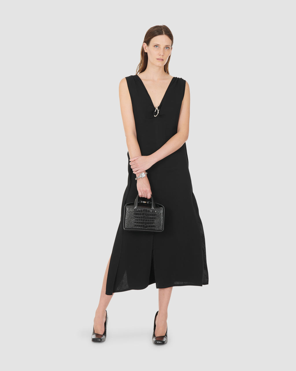 1017 ALYX 9SM | ANTONIA DRESS | Dress | Black, Dresses, Google Shopping, S20, S20 Drop II, Woman, WOMEN
