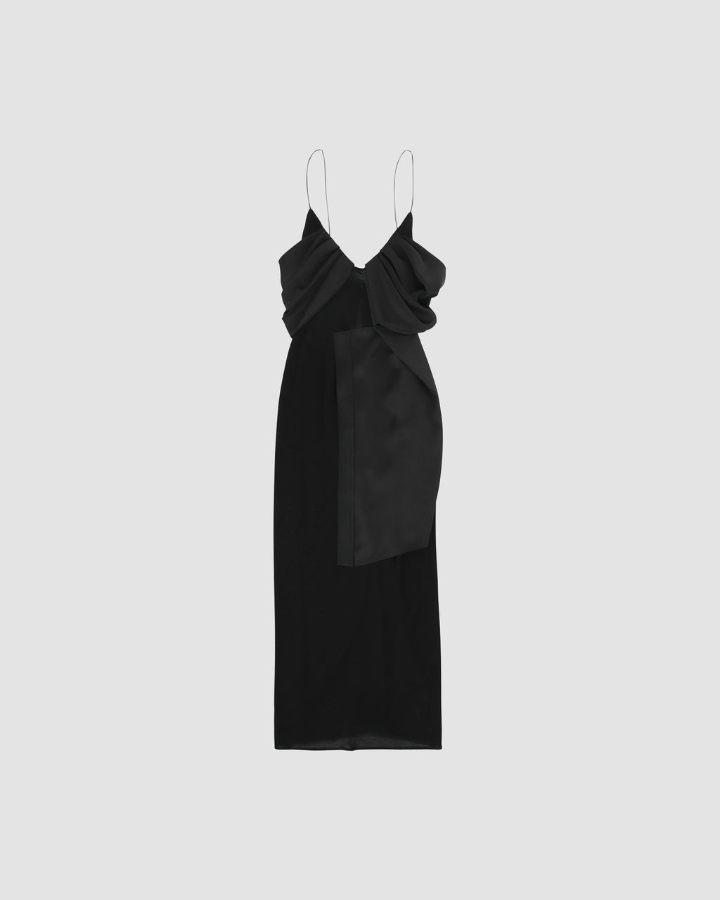 FOULARD FORMAL LONG DRESS