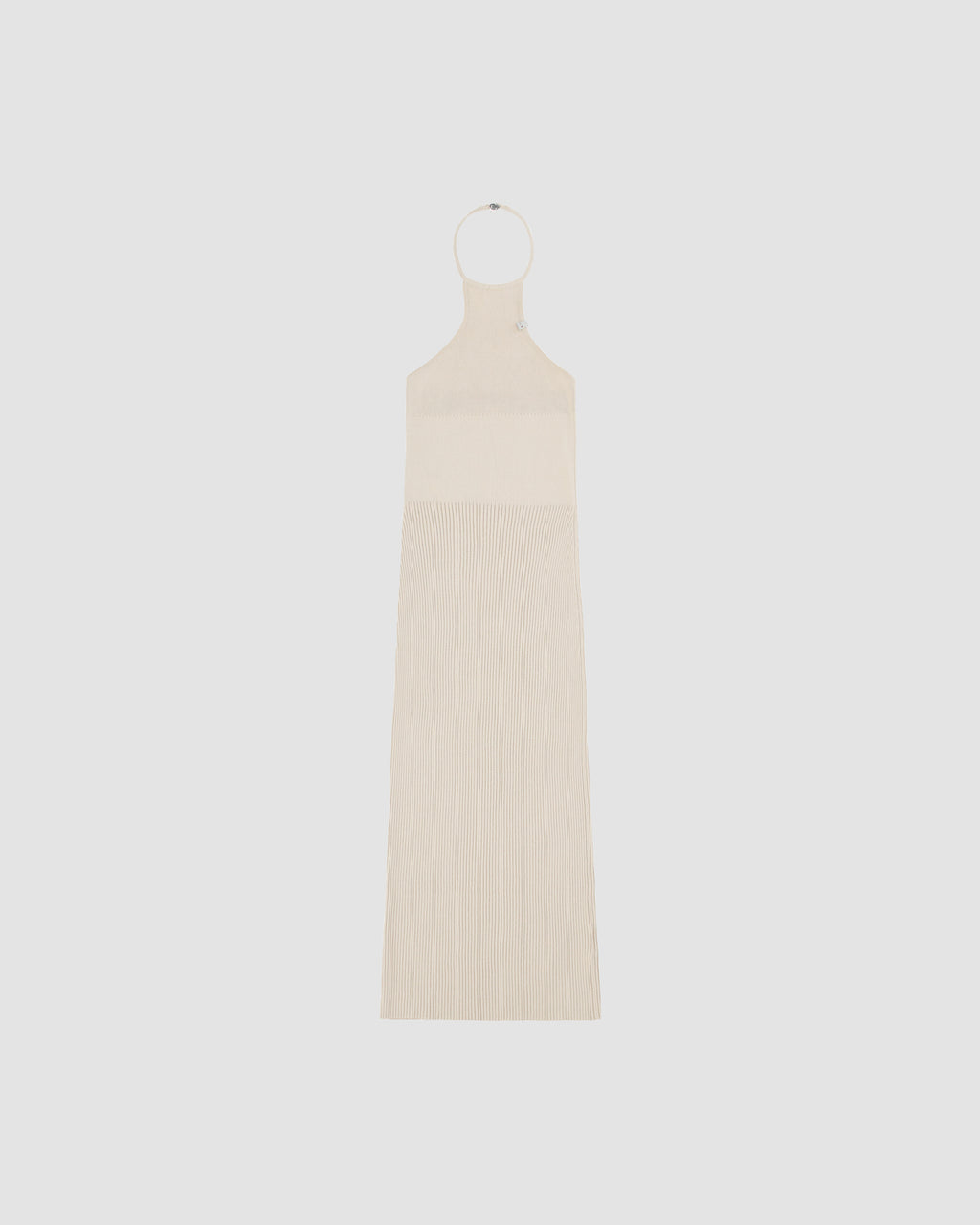 RIBBED KNIT TANK DRESS