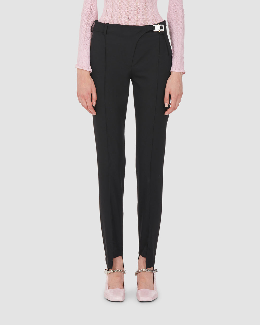 1017 ALYX 9SM | STIRRUP SUIT PANT | Pants | BLACK, Google Shopping, PANTS, S20, SS20, Trousers, Woman, WOMEN
