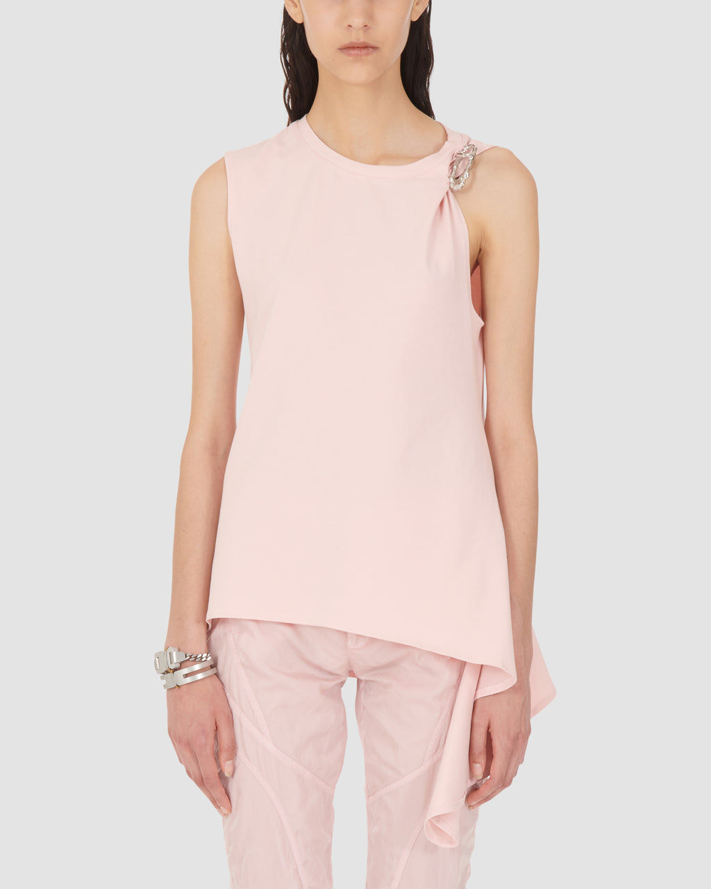 1017 ALYX 9SM | SLEEVELESS SMOCKED TOP | Top | Google Shopping, PINK, S20, SS20, TOPS & SHIRTS, Woman, WOMEN