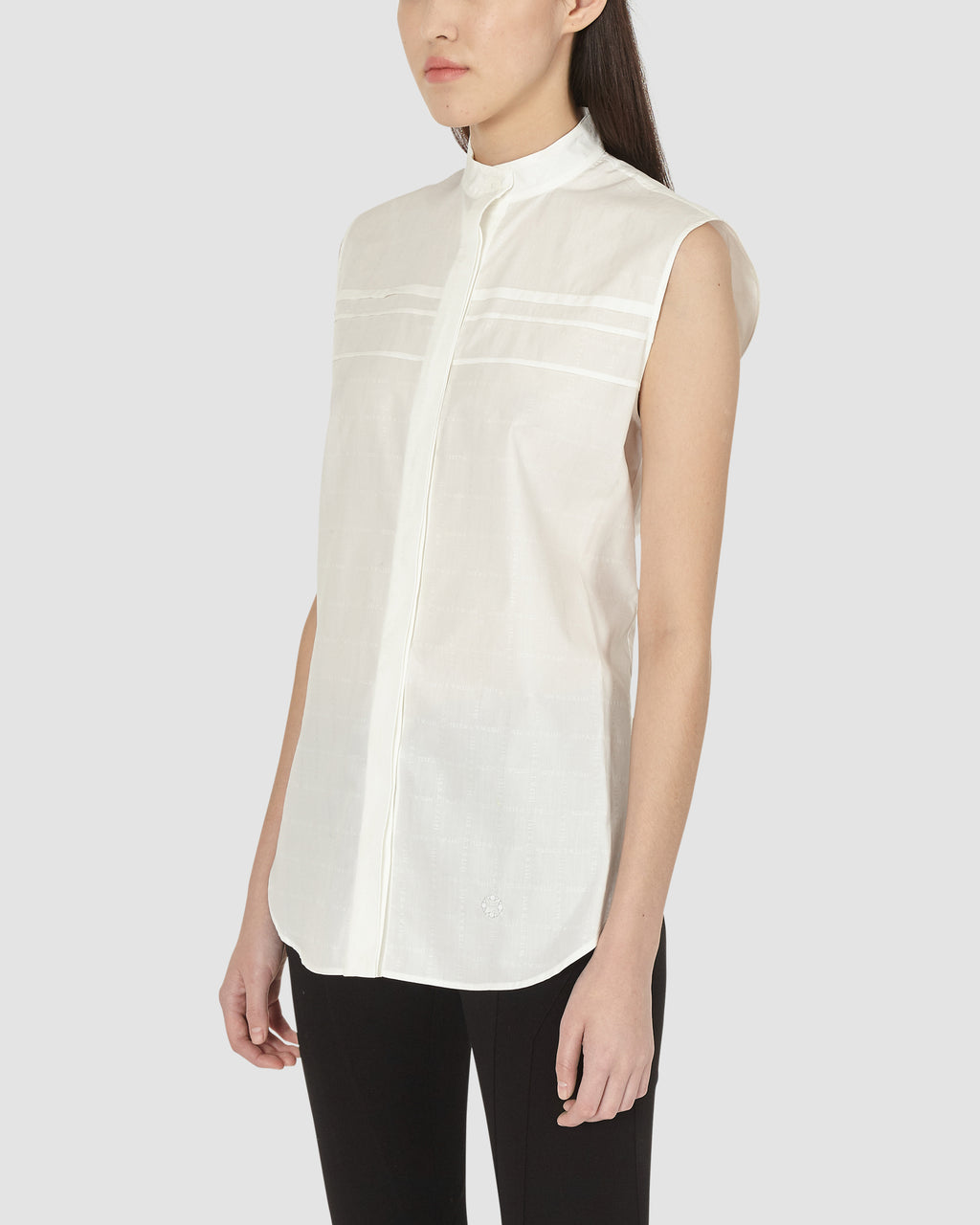 1017 ALYX 9SM | SMOCKED KIM BLOUSE | Top | Google Shopping, S20, S20EXSH, TOPS & SHIRTS, WHITE, Woman, WOMEN
