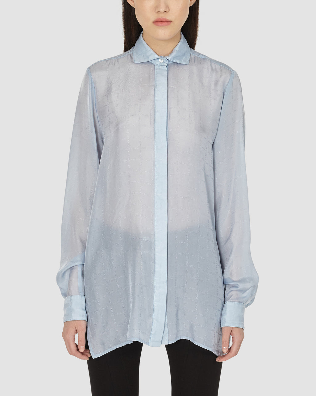 1017 ALYX 9SM | HAVE A GOOD SUMMER SHIRT | Shirt | Google Shopping, LIGHT BLUE, S20, S20EXSH, Shirts, TOPS & SHIRTS, Woman, WOMEN