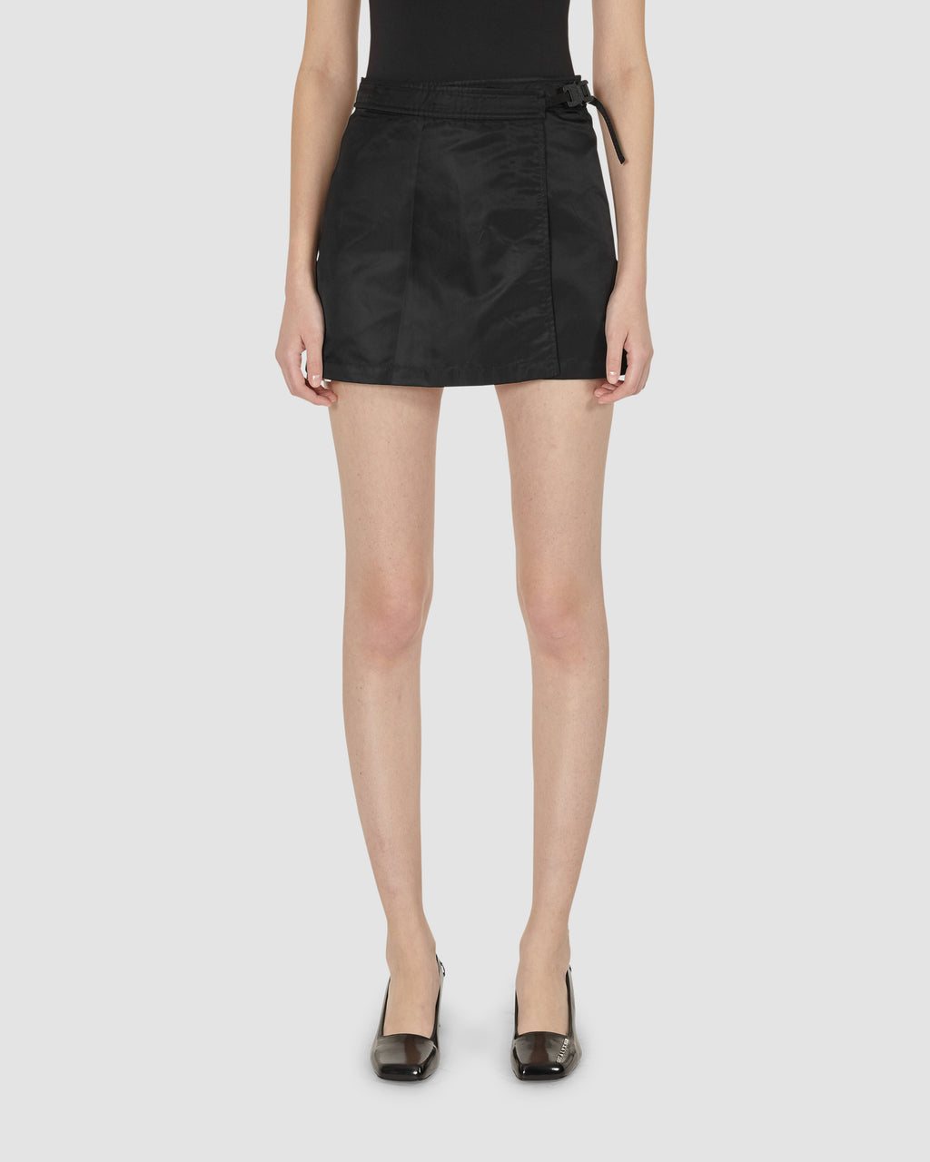 1017 ALYX 9SM | BLACK MINI SKIRT | Skirt | BLACK, Google Shopping, S20, S20EXSH, Skirts, Woman, WOMEN