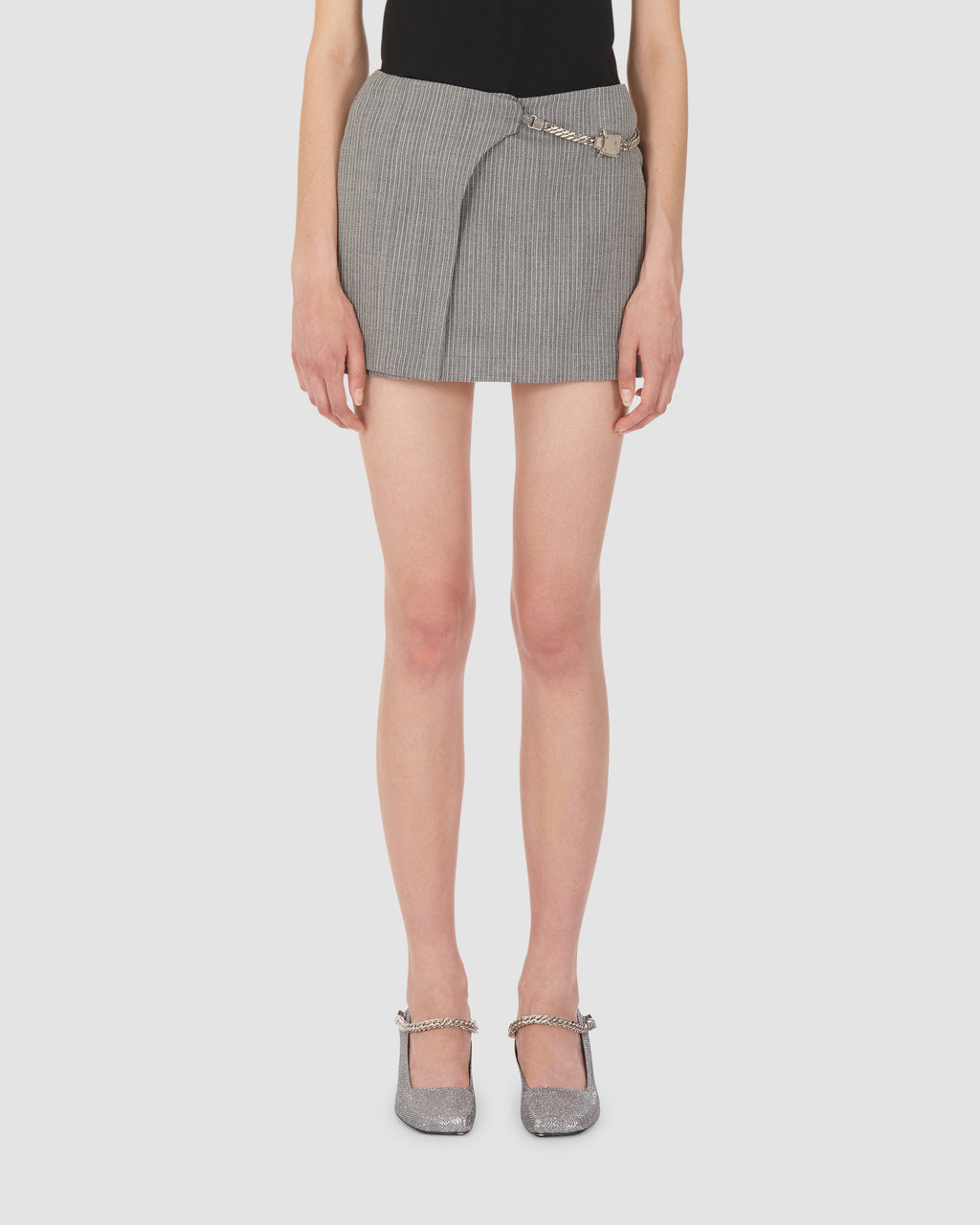 1017 ALYX 9SM | MINI SKIRT W CUBE CHAIN | Skirt | Google Shopping, Grey, S20, S20 Drop II, Skirts, Woman, WOMEN