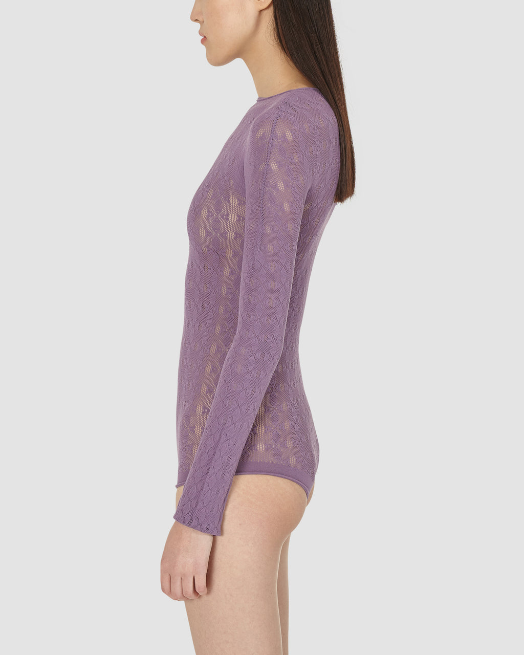 """A"" KNIT BODYSUIT"