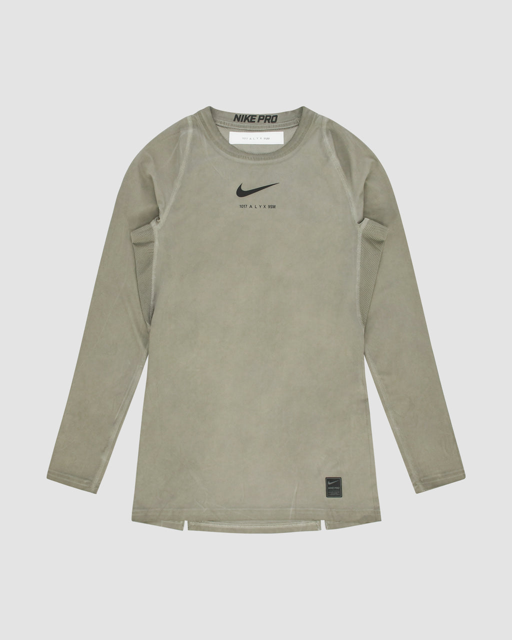 NIKE LS TEE W/DIRT TREATMENT - POPUP S20