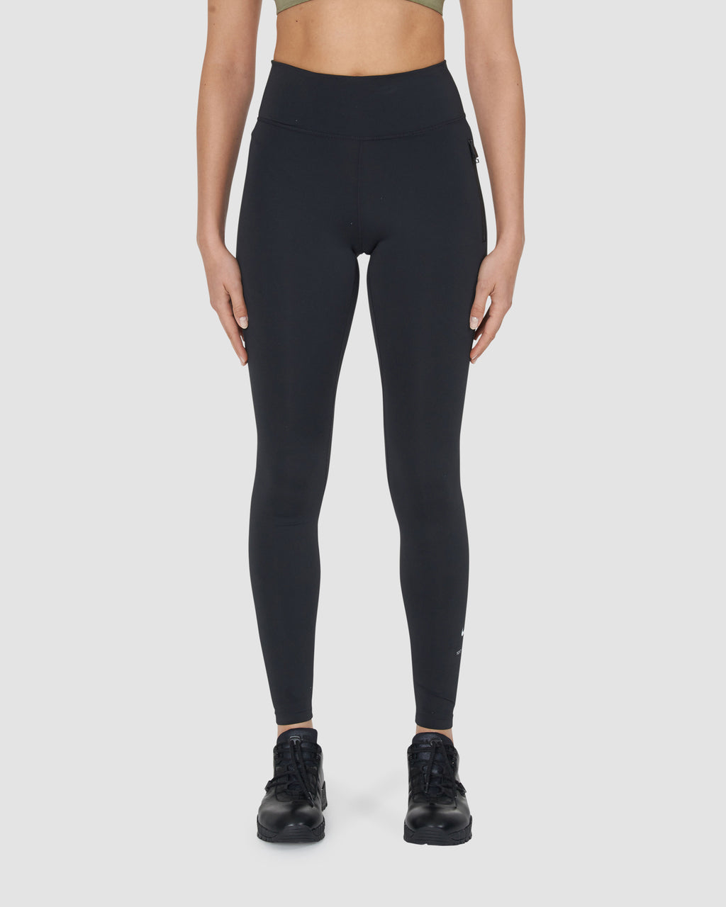 NIKE LEGGINGS W ZIP