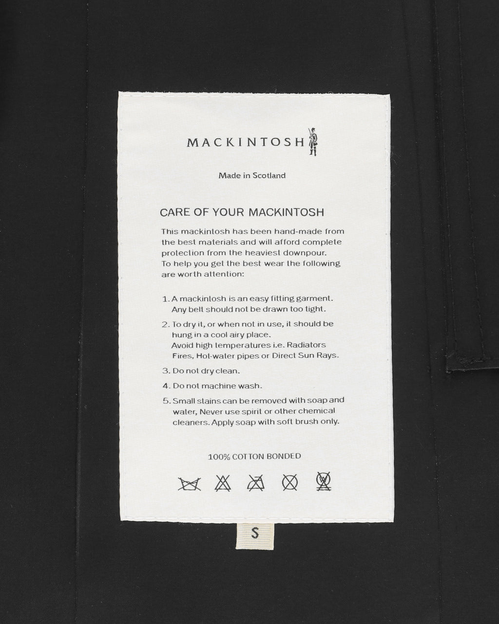 MACKINTOSH HOODED COAT