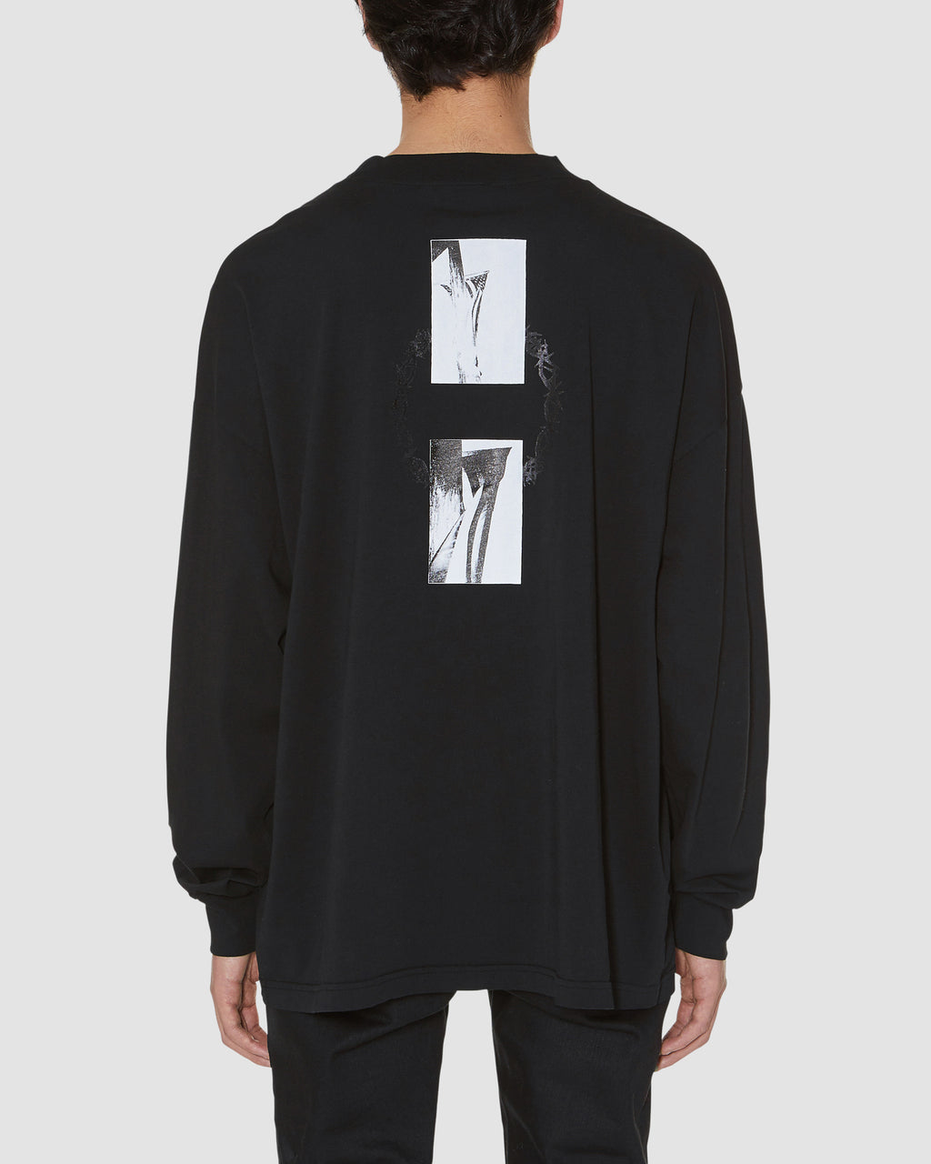 FLAG IN THORN L/S TEE