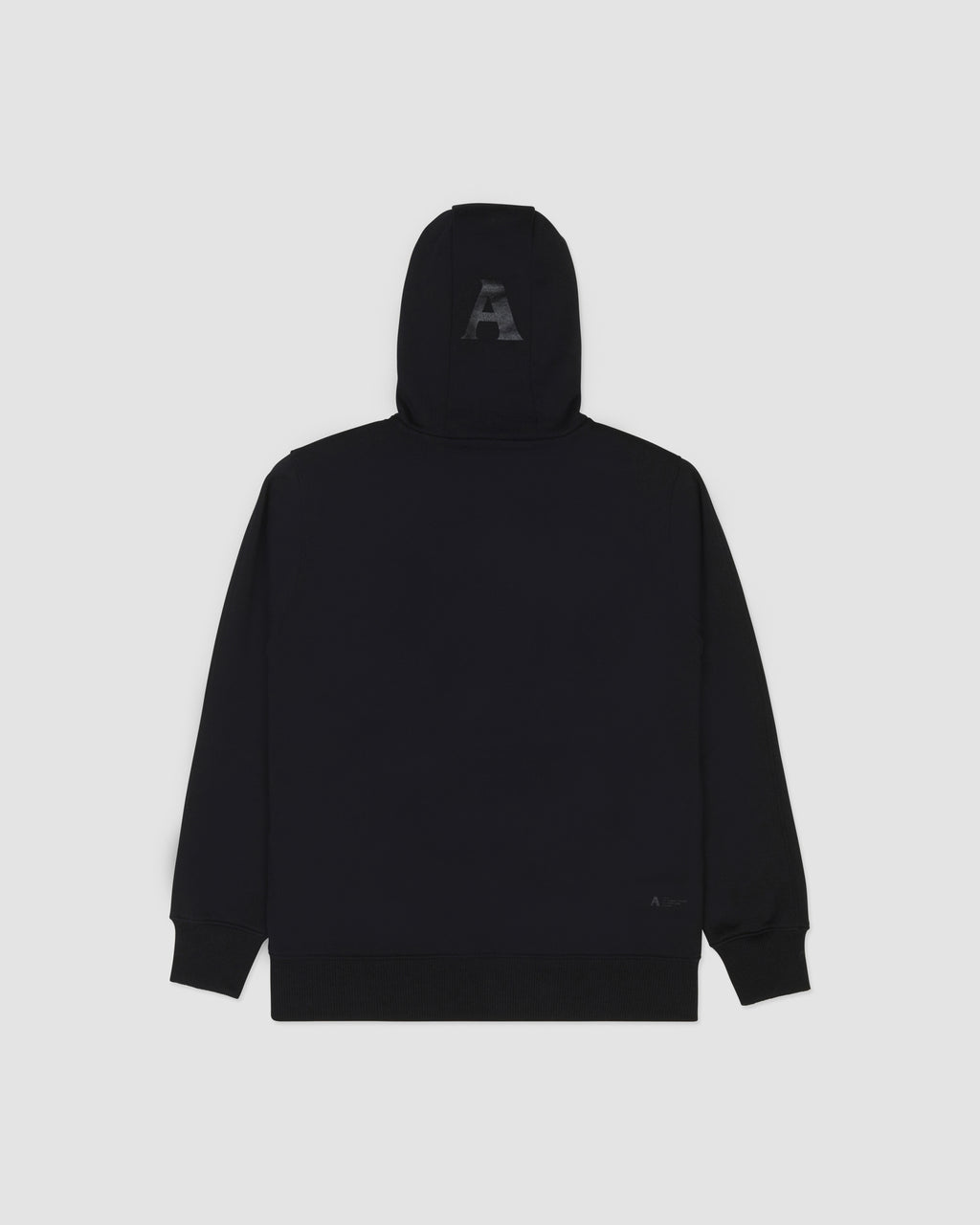 A LOGO HOODED SWEATSHIRT