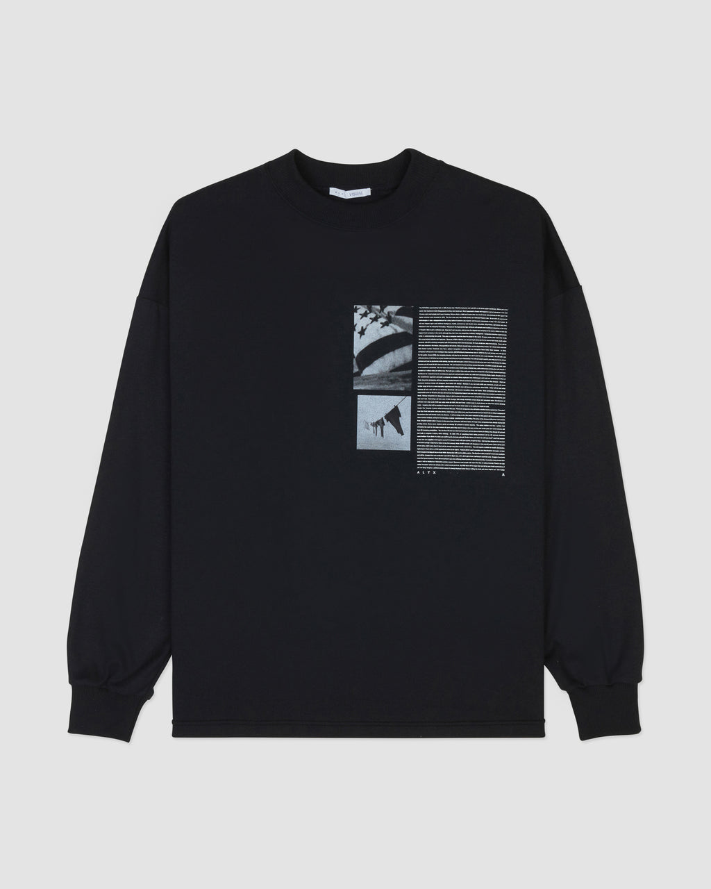 FLAG GRAPHIC L/S TEE