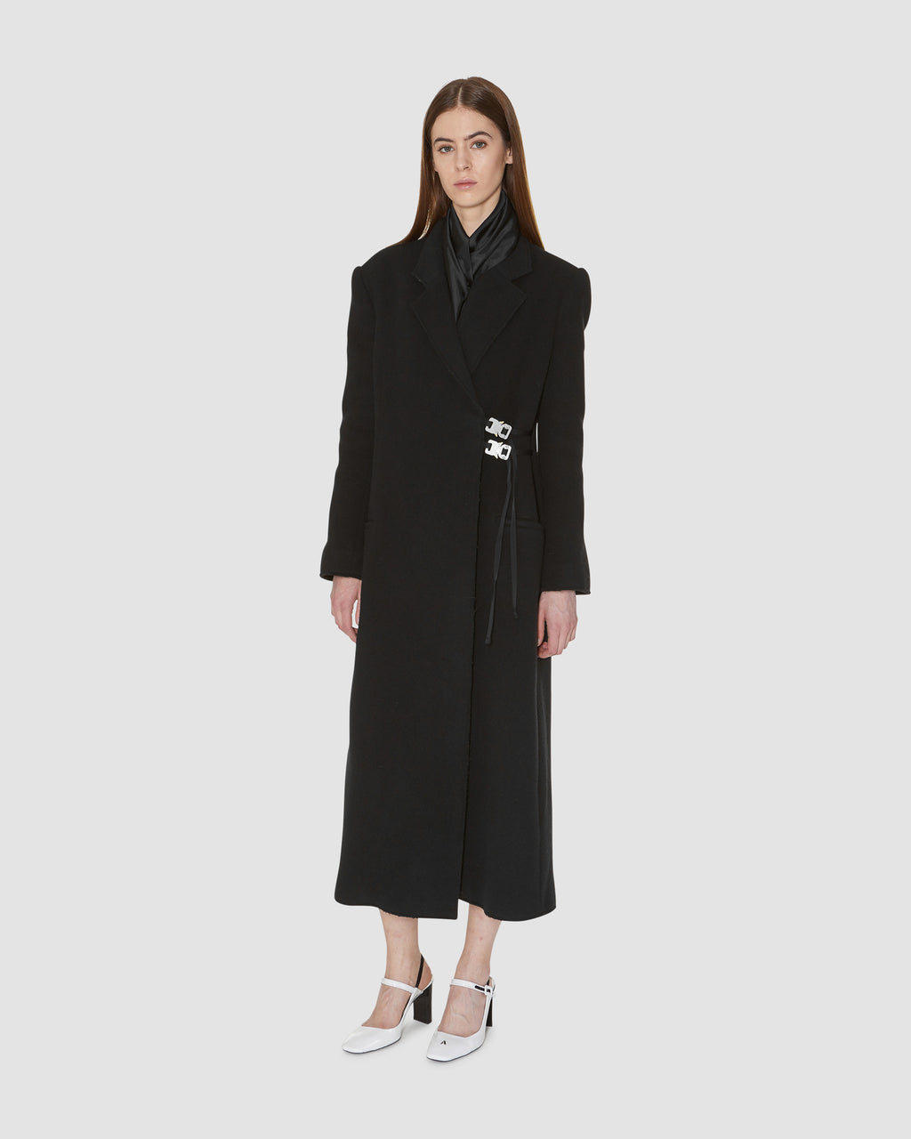 STATESMAN LONG WOOL COAT