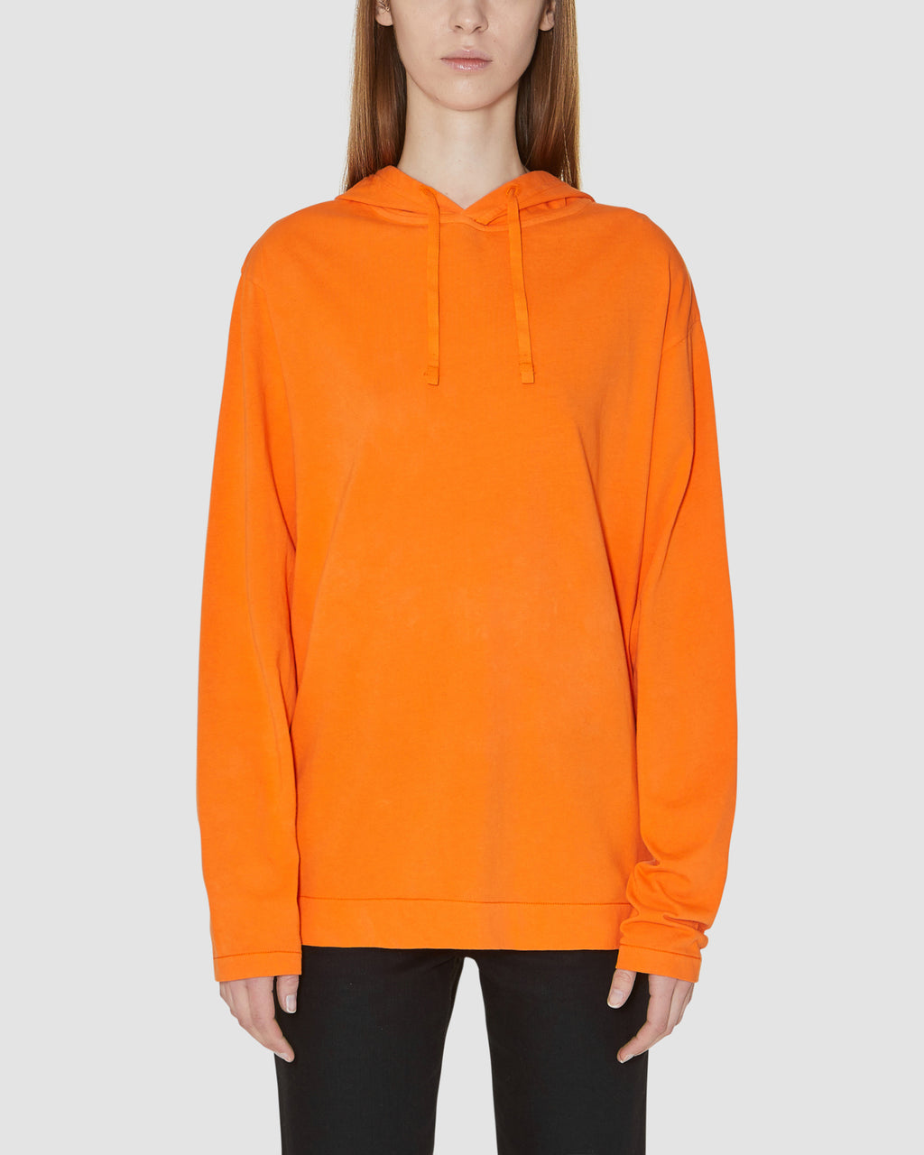 COLLECTION HOODED LS TEE