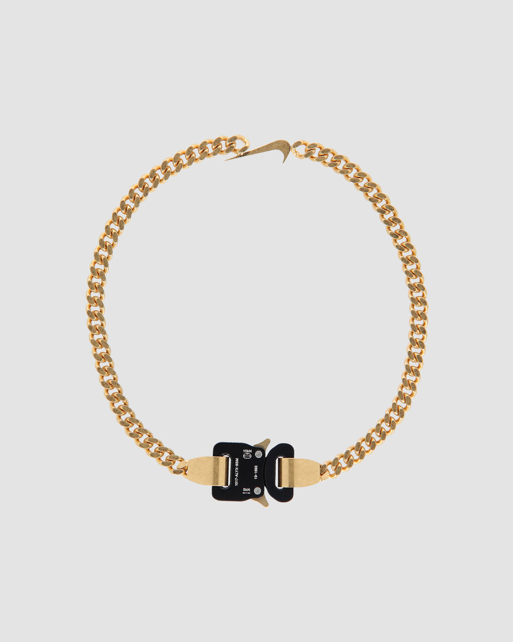 1017 ALYX 9SM | SWOOSH HERO CHAIN GOLD | Jewellery | F19, S19