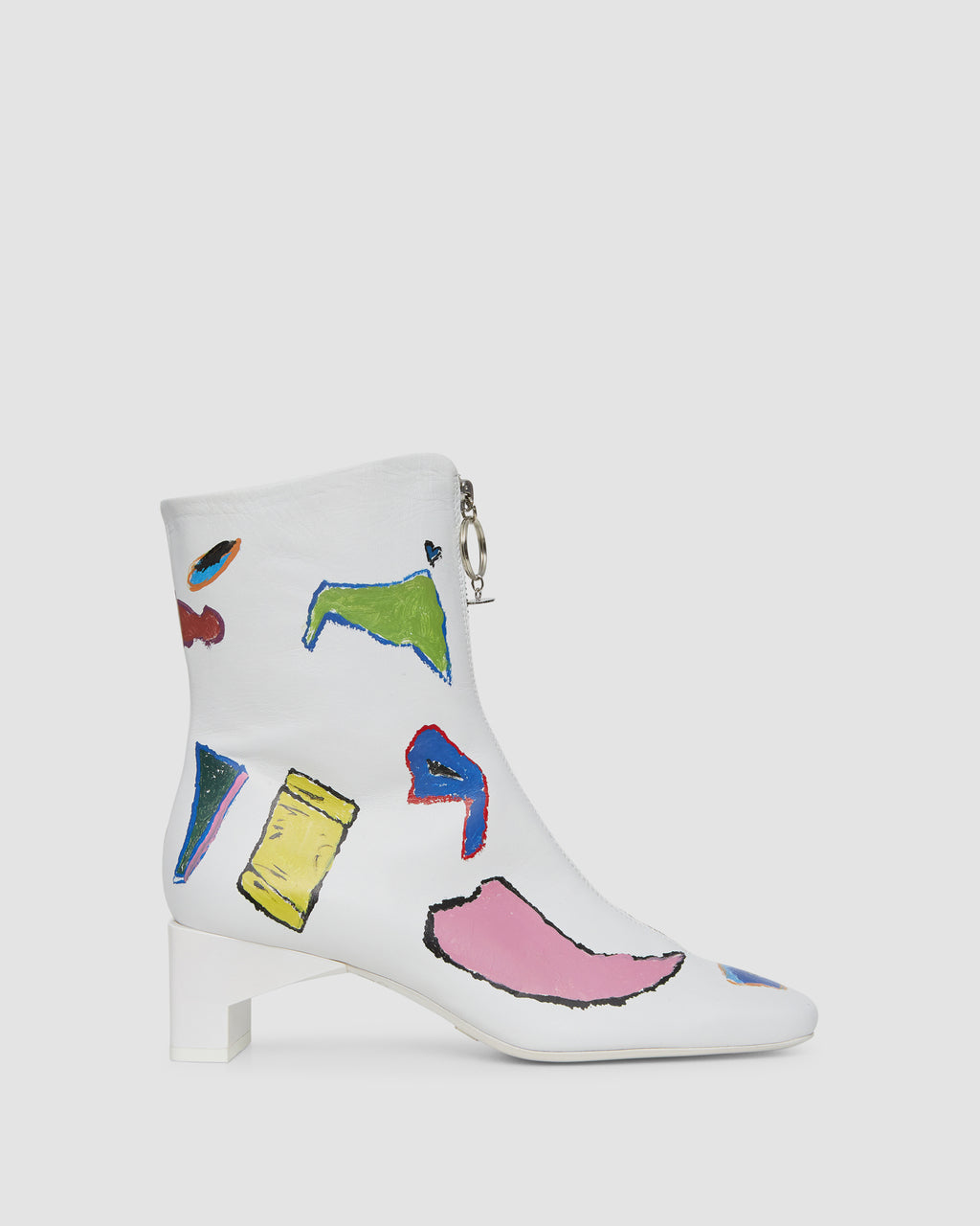 PRINTED ALEX ZIP BOOT