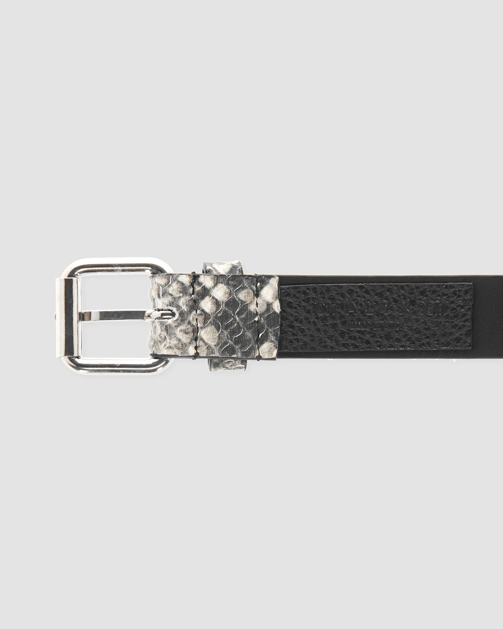 MEDIUM ROLLERCOASTER BELT IN LEATHER