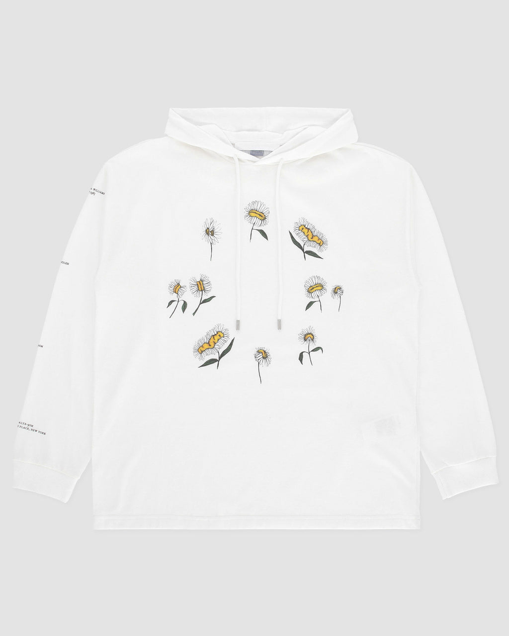 DAISY RING LS HOODED TEE