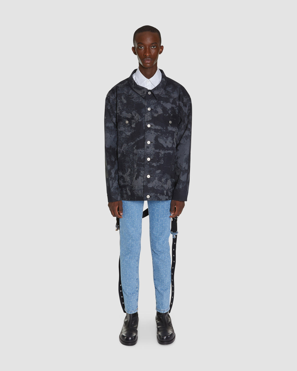 MACKINTOSH OVERSIZED DENIM JACKET