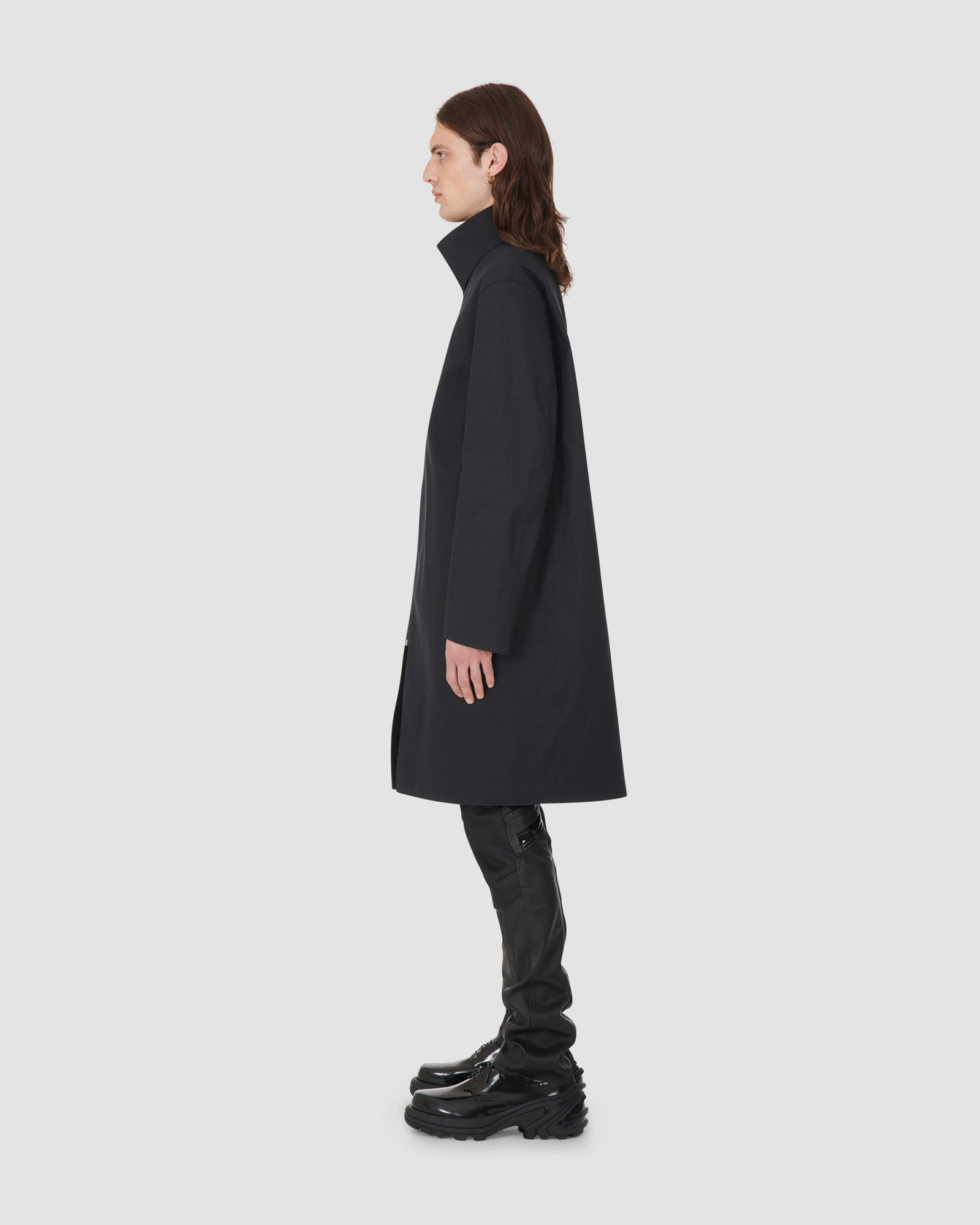 1017 ALYX 9SM | MACKINTOSH STAZIONE LONG COAT | Outerwear | BLACK, Google Shopping, Mackintosh, Man, OUTERWEAR, S20, UNISEX