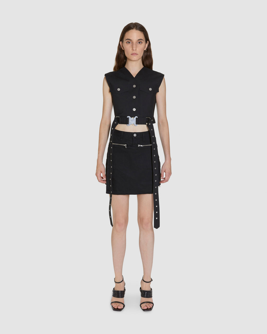 MACKINTOSH CROPPED VEST