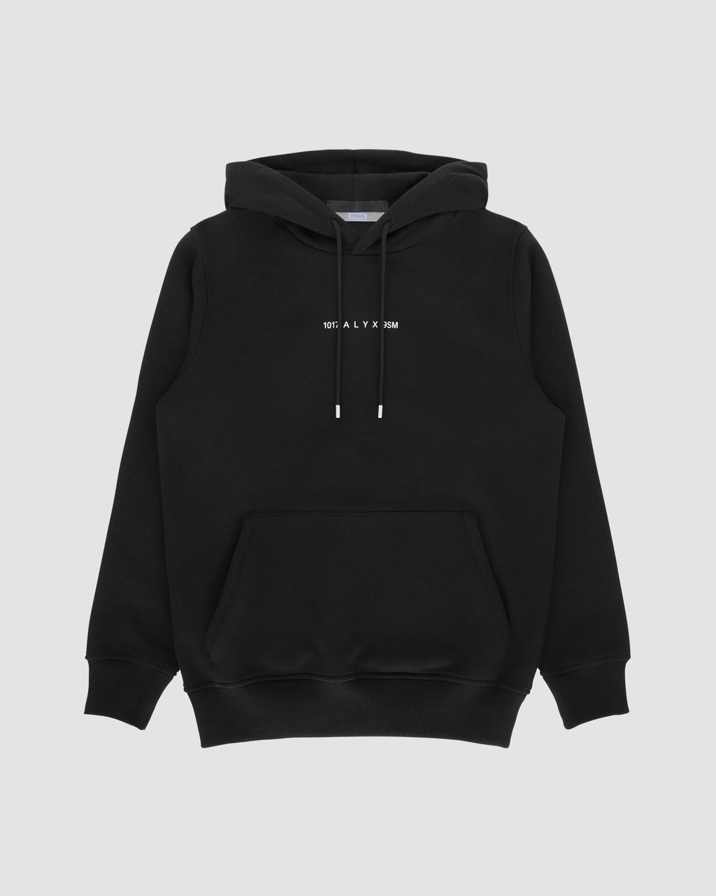 1017 ALYX 9SM | LOGO HOODED SWEATSHIRT | Sweatshirt | Black, F19, Visual