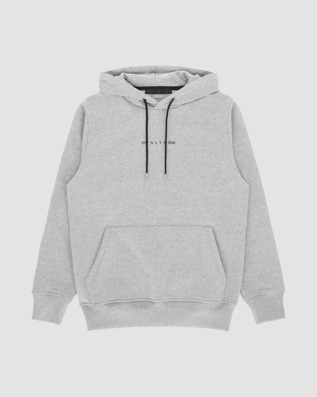 1017 ALYX 9SM | LOGO HOODED SWEATSHIRT | Sweatshirt | F19, Grey, Visual