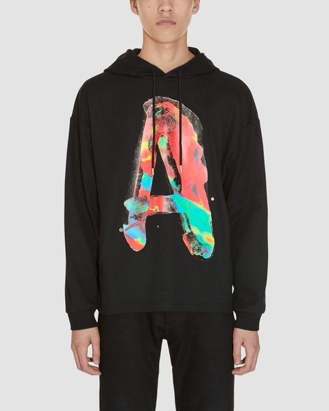 HOODED WATERCOLOR LS T-SHIRT