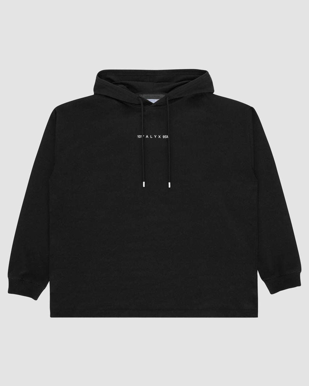 1017 ALYX 9SM | LOGO HOODED TEE | Sweatshirt | Black, F19, Visual