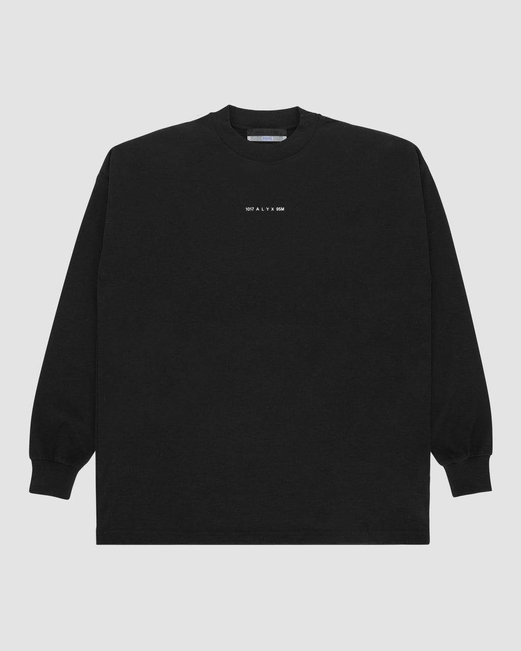 1017 ALYX 9SM | LOGO LS TEE | T-Shirt | Black, F19, TESTINTEGRATION, Visual
