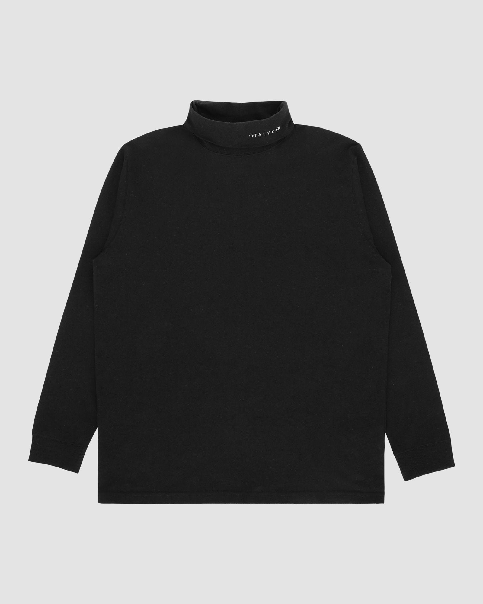 L/S ROLL NECK TEE VISUAL