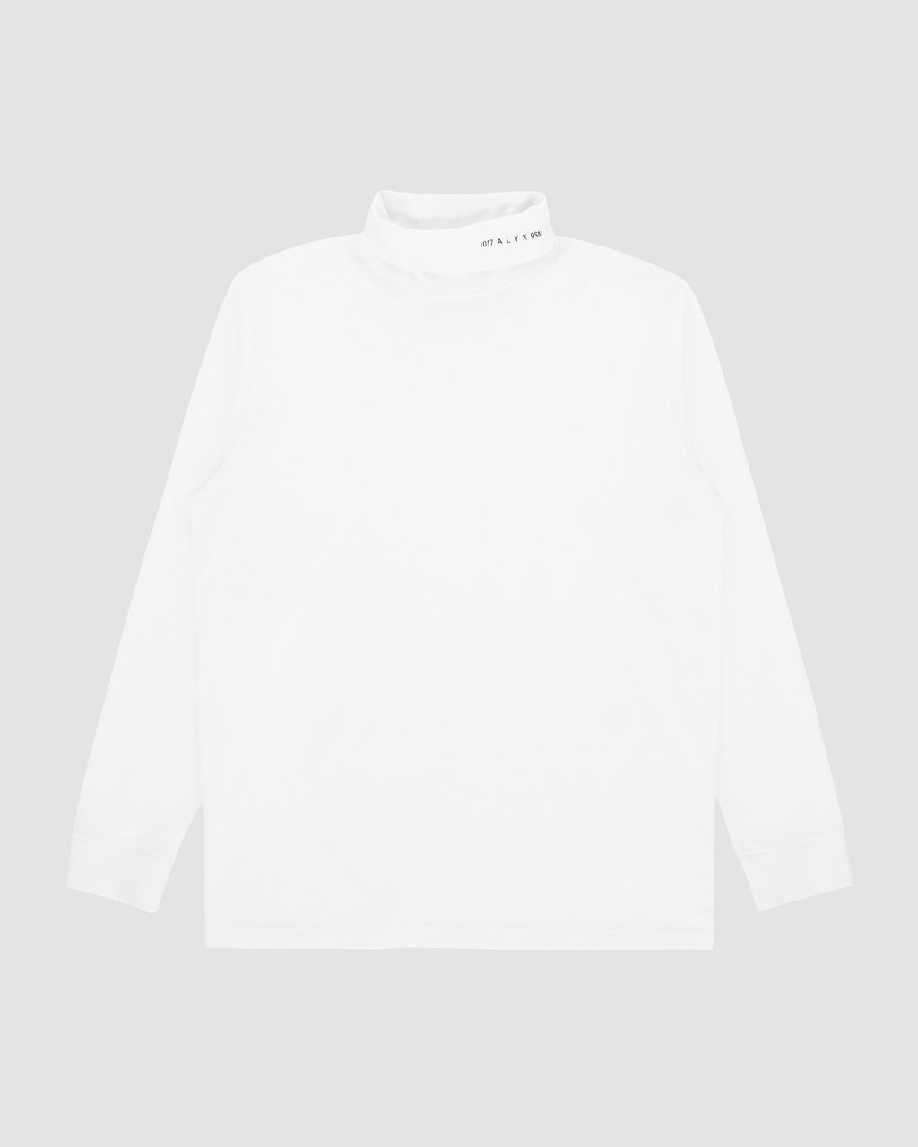 LOGO ROLL NECK TEE