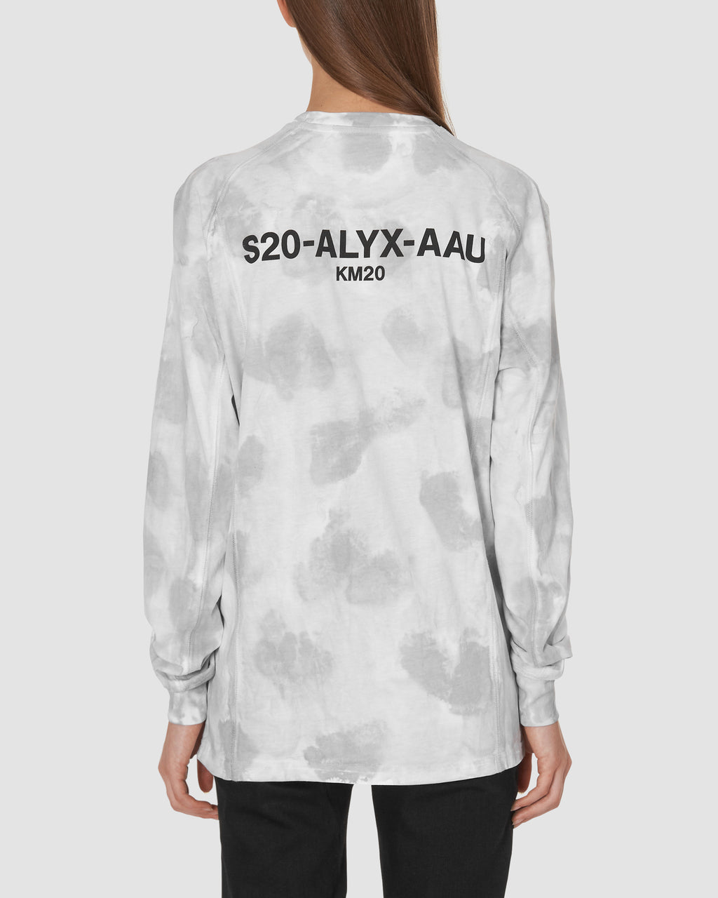 1017 ALYX 9SM | KM20 EXCLUSIVE LS TEE W ZIP | T-Shirt | CAMO GREY, Google Shopping, KM20, Man, MEN, S20, T-Shirts, Woman