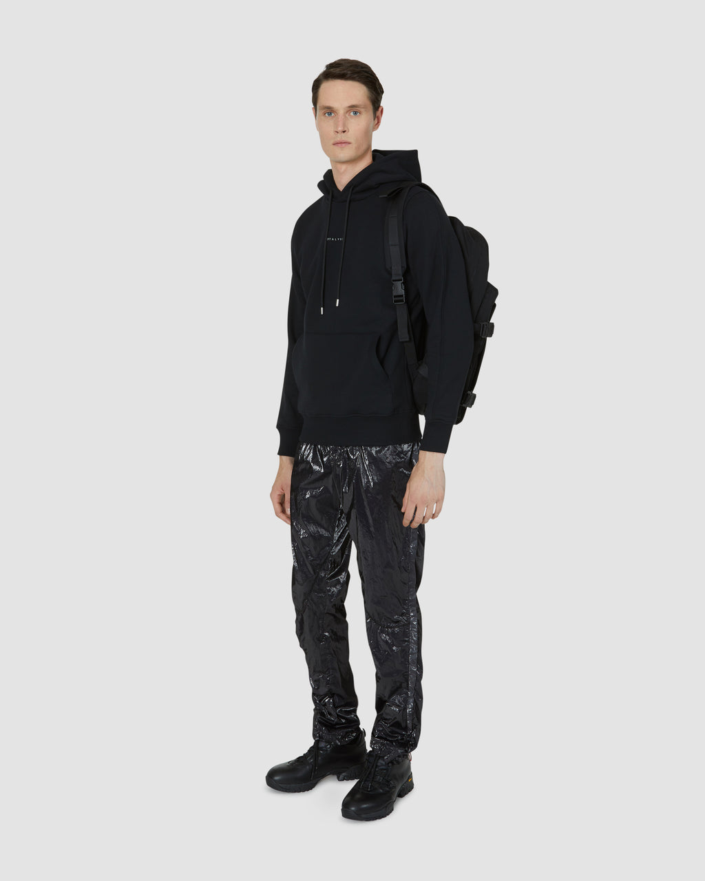 NORDSTROM HOODED VISUAL SWEATSHIRT