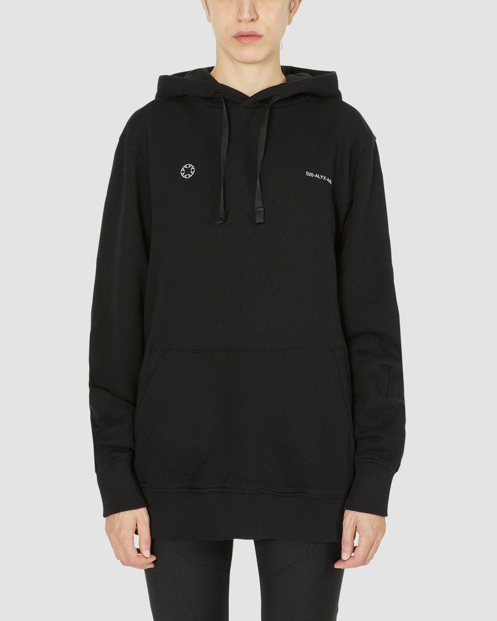 IT- HOODIE WITH EXCLUSIVE CUBE CHAIN