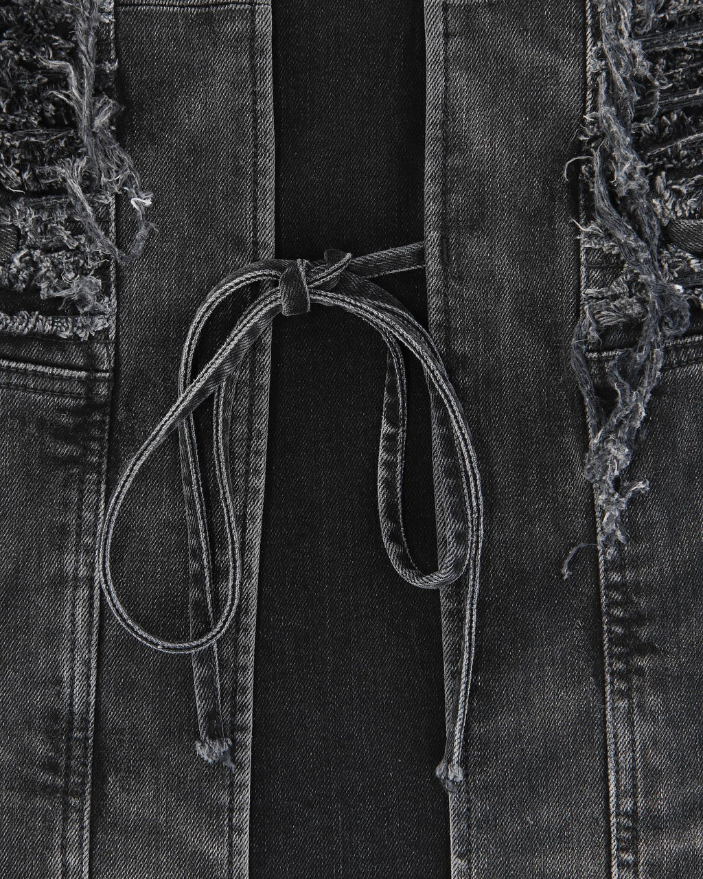 BLACKMEANS DENIM VEST