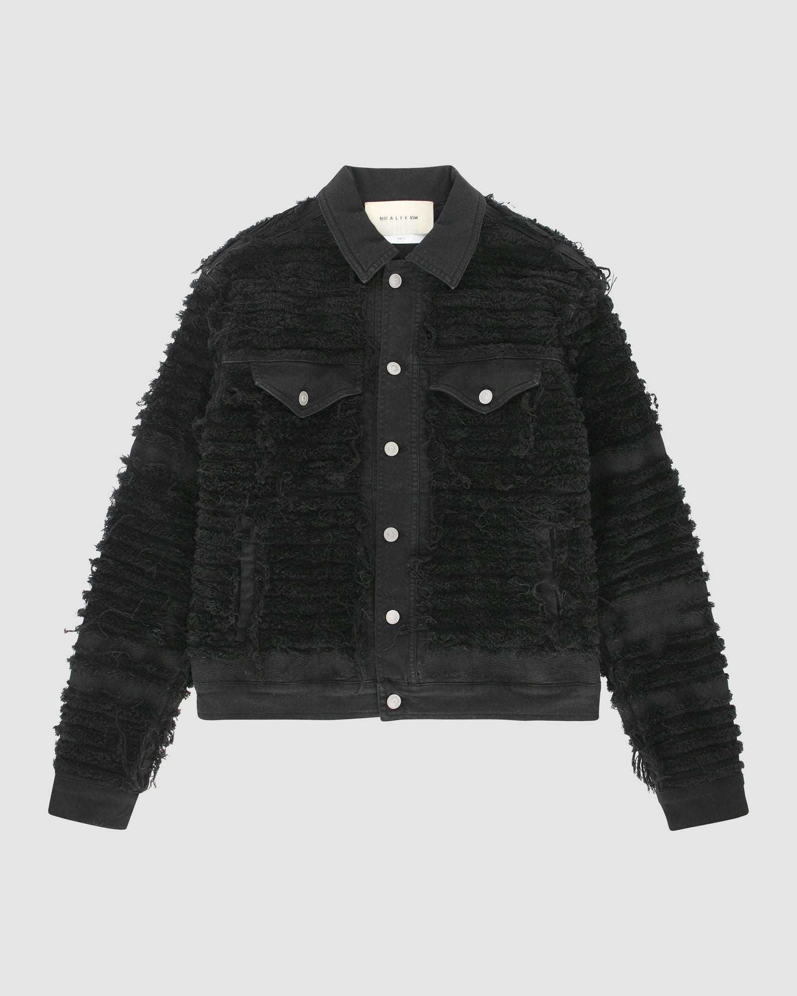 DENIM JACKET BLACKMEANS