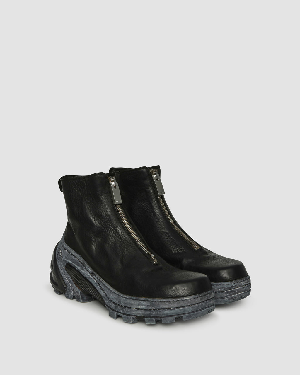 GUIDI ALYX FRONT ZIP BOOT WITH VIBRAM SOLE