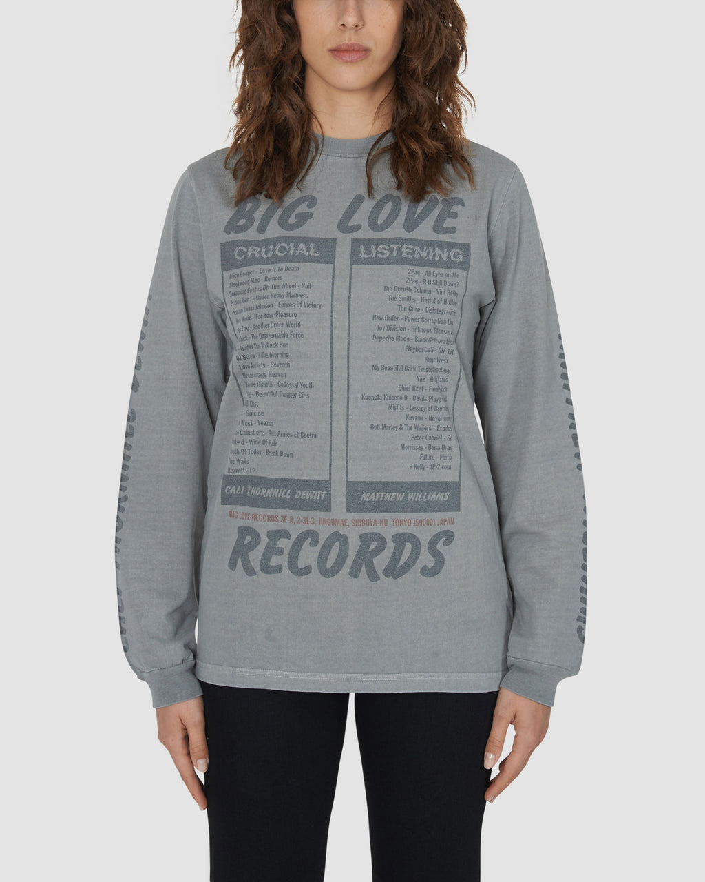 BIG LOVE RECORDS LS TEE