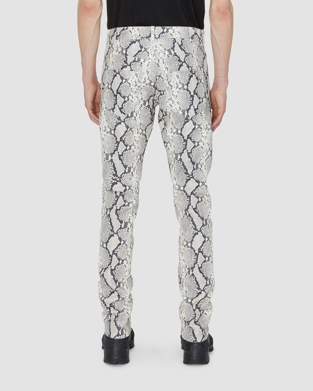 CAGE LEATHER PANT
