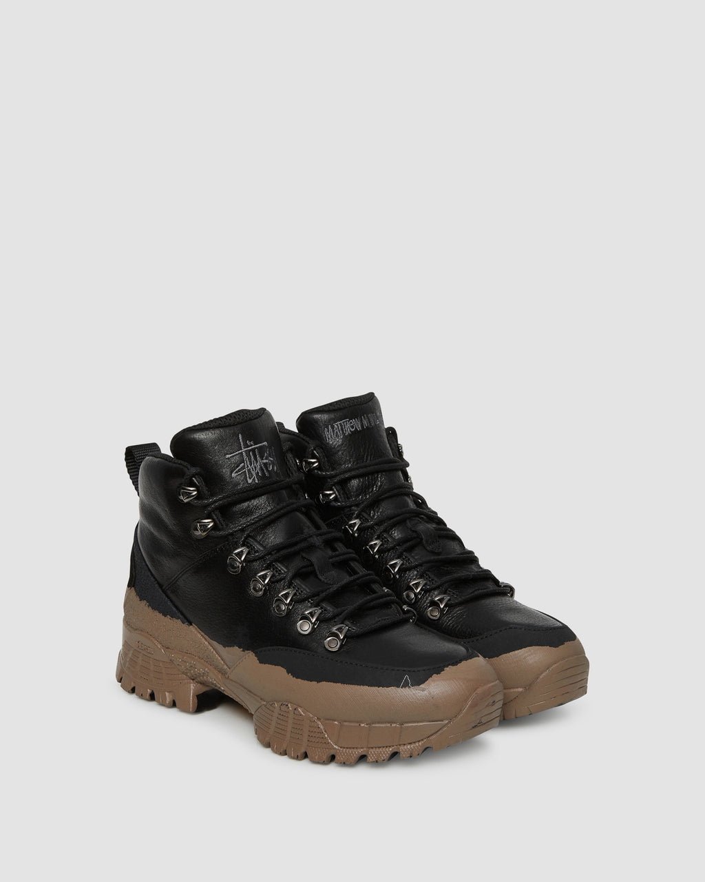 1017 ALYX 9SM | STUSSY HIKING BOOT | Shoe | Black, F19, Man, Shoes, STUSSY, Woman
