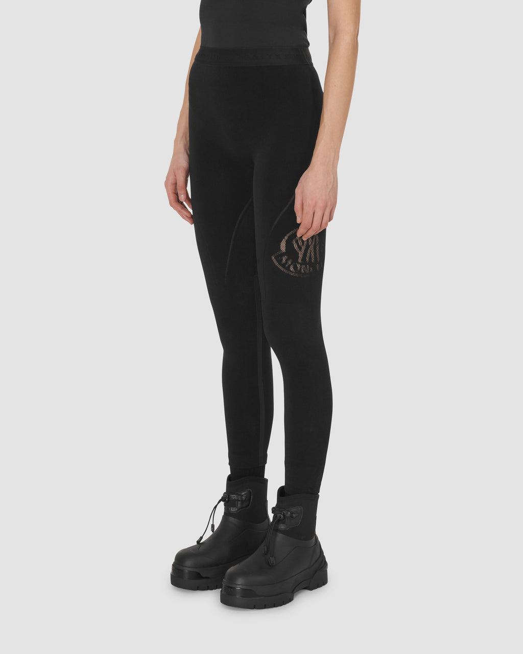 1017 ALYX 9SM | MONCLER LEGGINGS | PANTS | BLACK, Google Shopping, Moncler, PANTS, S20, WOMEN