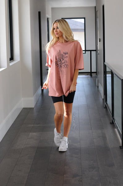 Happiness Oversized Tee