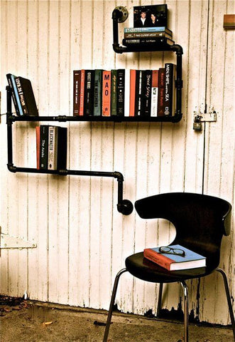 Industrial Reading Nook Style